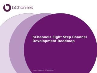 bChannels Eight Step Channel  Development Roadmap