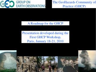 A Roadmap for the GHCP