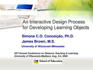 An Interactive Design Process for Developing Learning Objects