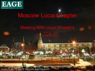 Moscow Local Chapter