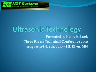 Ultrasonic Technology