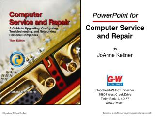 PowerPoint for Computer Service and Repair