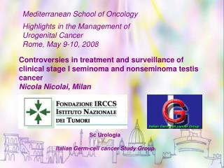 Sc Urologia Italian Germ-cell cancer Study Group