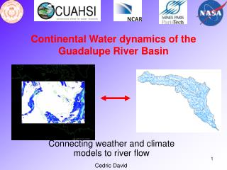 Continental Water dynamics of the  Guadalupe River Basin