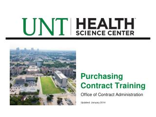 Purchasing Contract Training
