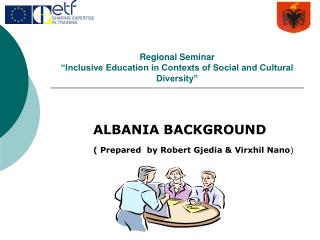 "Regional Seminar  ""Inclusive Education in Contexts of Social and Cultural Diversity"""