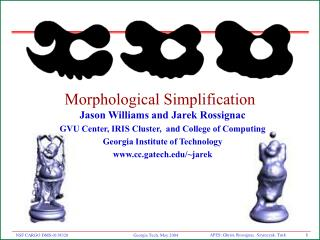 Morphological Simplification