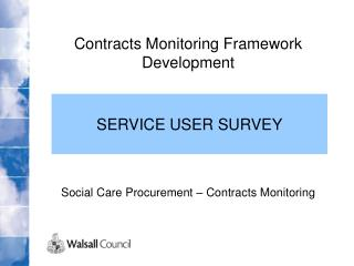Contracts Monitoring Framework Development