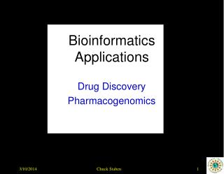 Bioinformatics Applications