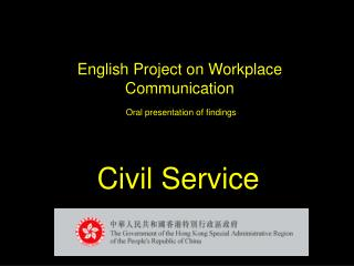 English Project on Workplace Communication