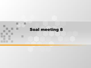 Soal meeting 8