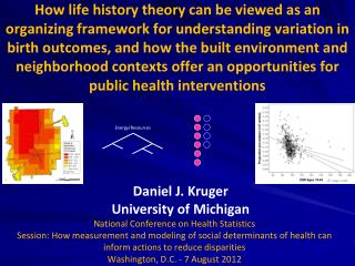 National Conference on Health Statistics Session: How measurement and modeling of social determinants of health can info