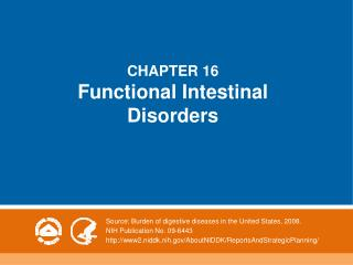 CHAPTER 16 Functional Intestinal Disorders