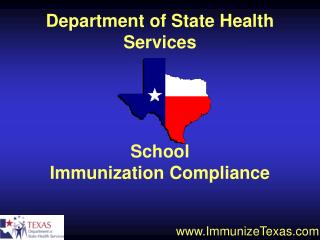 School Immunization Compliance
