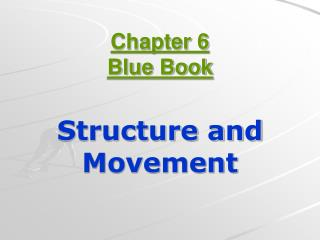 Chapter 6 Blue Book