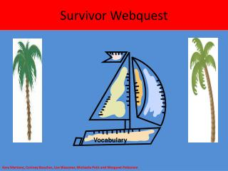 Survivor Webquest