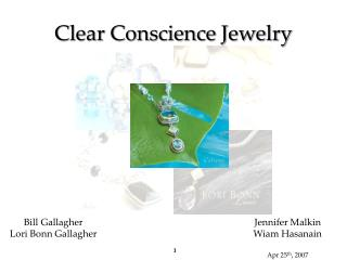 Clear Conscience Jewelry