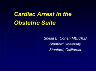 Cardiac Arrest in the Obstetric Suite