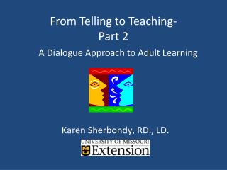 From Telling to Teaching-  Part 2