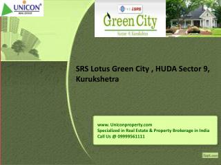 SRS Lotus Green City Kurukshetra | Call 09999561111
