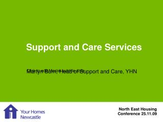Support and Care Services