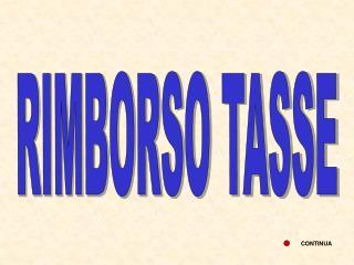 RIMBORSO TASSE