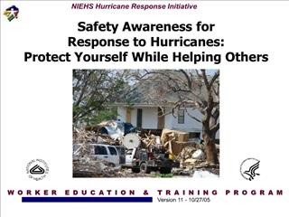 NEIHS-OSHA Katrina Safety