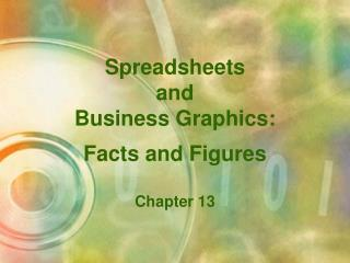 Spreadsheets and Business Graphics: Facts and Figures