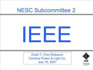 NESC Subcommittee 2