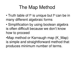 The Map Method