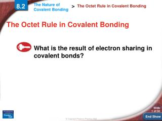 The Octet Rule in Covalent Bonding