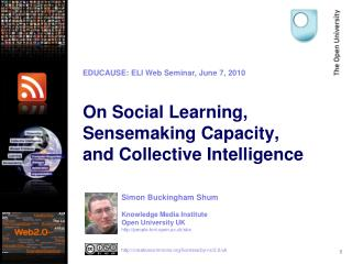On Social Learning, Sensemaking Capacity,  and Collective Intelligence