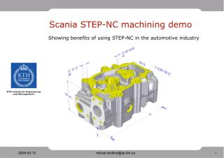 Scania STEP-NC machining demo