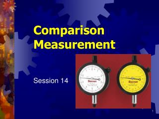 Comparison Measurement