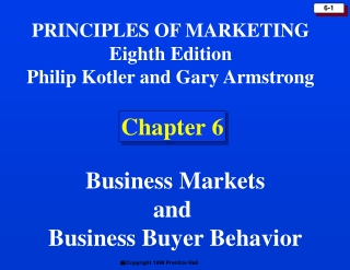 The Buying Process and Buyer Behavior