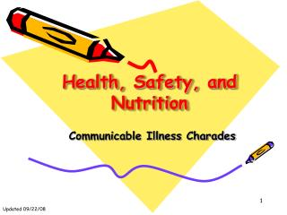 Health, Safety, and Nutrition