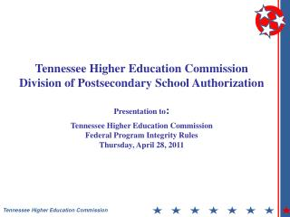 Tennessee Higher Education Commission