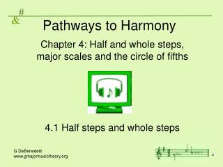Pathways to Harmony