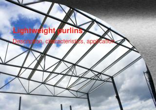 Lightweight purlins