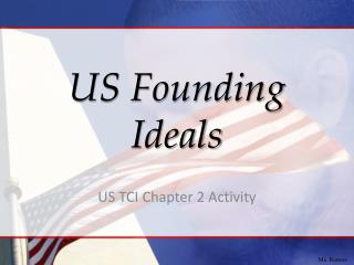 US Founding Ideals