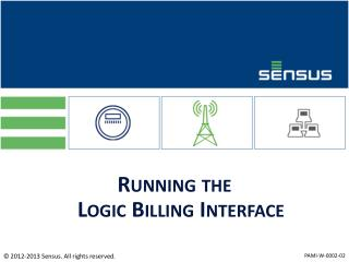 Running the Logic Billing Interface