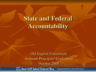 State and Federal Accountability