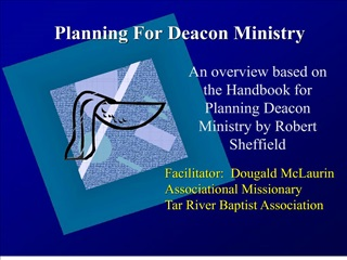 Planning For Deacon Ministry