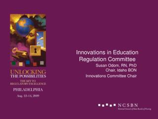 Innovations in Education Regulation Committee