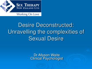 Desire Deconstructed: Unravelling the complexities of Sexual Desire