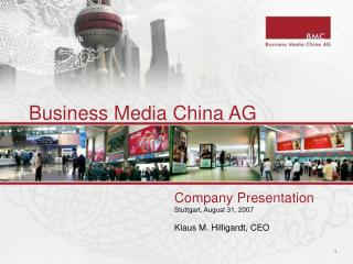 Business Media China AG