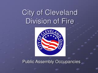 City of Cleveland Division of Fire