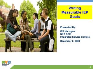 Writing  Measurable IEP Goals