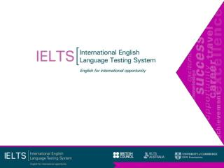 What do IELTS candidates have to do?