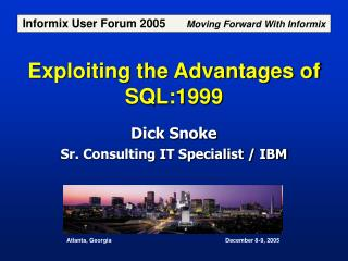 Exploiting the Advantages of SQL:1999
